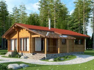 деревянные дома цены