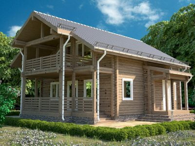 готовый дом из бруса под ключ цены